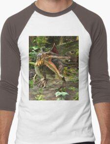 Dinosaur Spinosaurus Men's Baseball ¾ T-Shirt