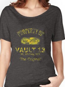"""Vaultdweller - Vault 13 """"The Original"""" Women's Relaxed Fit T-Shirt"""