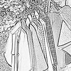 coat rack sketch effect  by Bigart32