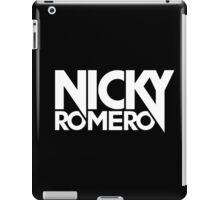 Nicky Romero (White Ink) iPad Case/Skin