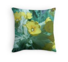 Cowslip gives the slip Throw Pillow