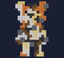 Tetris Bear by bearrydesigns