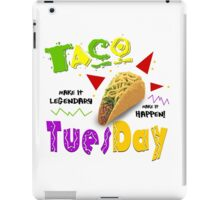 Taco Tuesday iPad Case/Skin