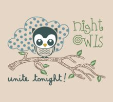 Night Owls Unite Tonight by David & Kristine Masterson