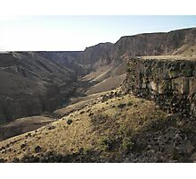 Owyhee River Gorge Photographic Print