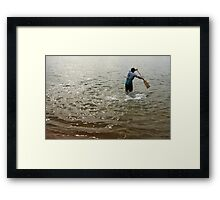 Mr Bo-peep Framed Print