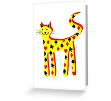Cat cards Greeting Card