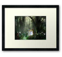 TIME TRAVELLERS Framed Print