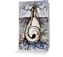 Tree of Desire Greeting Card