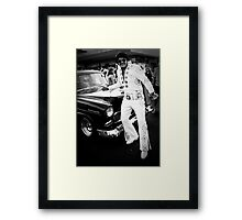 The King... Framed Print