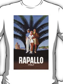 Rapallo Italy Vintage Travel Poster T-Shirt