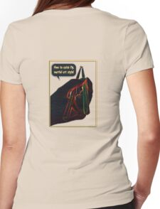 fly catcher Womens Fitted T-Shirt