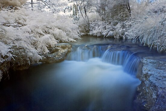 Kerosine Creek in infrared by Paul Mercer