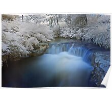 Kerosine Creek in infrared Poster