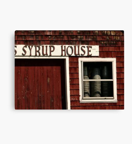 Retired Syrup House Canvas Print