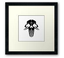 Rachnera Skull (for light backgrounds) Framed Print