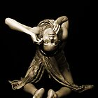 Dancer in Sepia by Victoria  Medina