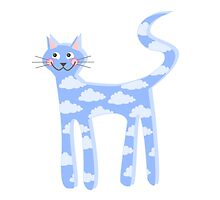 cat clouds by geekgifts