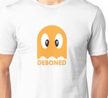 Deboned ghost - ORANGE Unisex T-Shirt