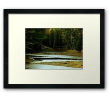Quiet Cove Framed Print
