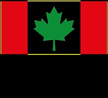 Afro Canadian Flag by viixiigfl