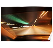 Night Driving Poster