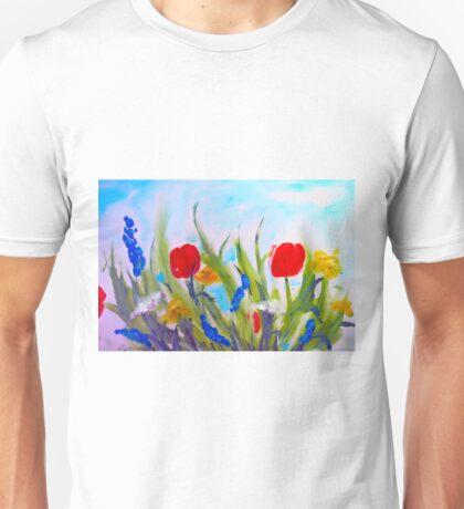 spring  garden Unisex T-Shirt