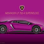 Purple - Aventador LP 750-4 Superveloce 2015 by Davrod