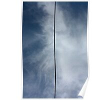 Power Line for Barnett Newman Poster