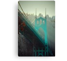 St. John's Bridge Canvas Print