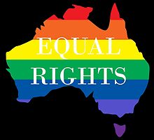 Equal Rights Australia by keepcalmart