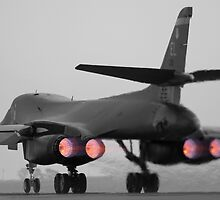 B-1B Lancer Burner by Stephen Titow
