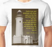 This Light will shine to guide us Unisex T-Shirt