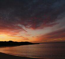 sunset ningaloo by garyi