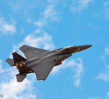F-15 at Davis-Monthan Airshow by pandapix