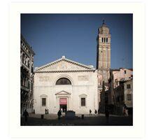 All These People - Venice, Campo San Maurizio Art Print