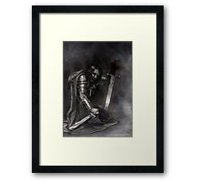 Brotherhood of the Sword Framed Print