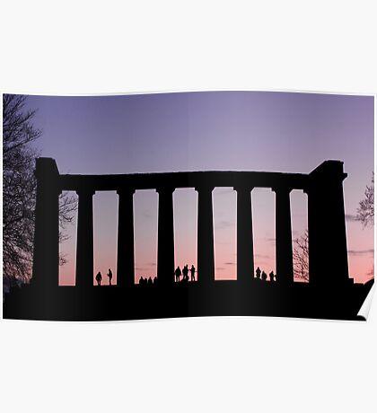Sunset Watchers Poster