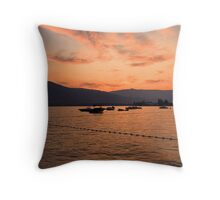 Osyoos Sunset Throw Pillow