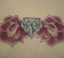 diamond n roses by Renee Checkers