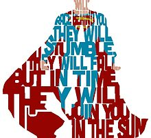Superman typography by Ethan-Andrews