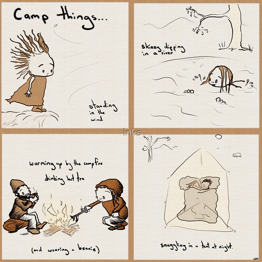 Camp things by inks