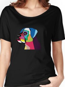 boxer  Women's Relaxed Fit T-Shirt