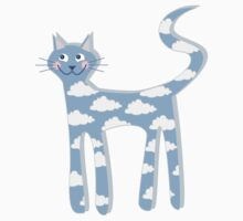 cat clouds One Piece - Long Sleeve