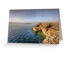 Fanore coastline Greeting Card