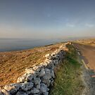 Fanore road by John Quinn