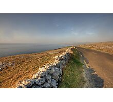 Fanore road Photographic Print