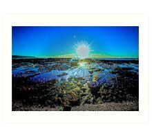 Sunrise Splash Art Print