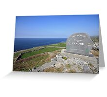 Fanore village Greeting Card