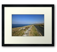 Fanore view Framed Print